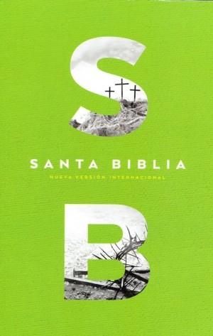 Biblia económica. Rústica. Verde - NVI