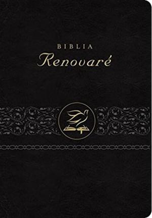Biblia renovaré. 2 tonos. Negro - RVR60