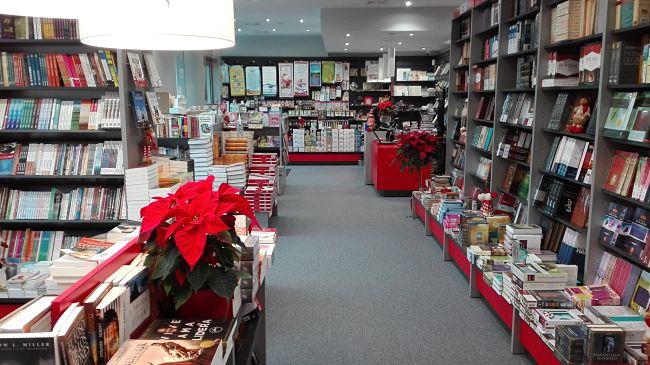 Vista de la libreria de Madrid